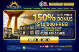 Sun palace casino free spins